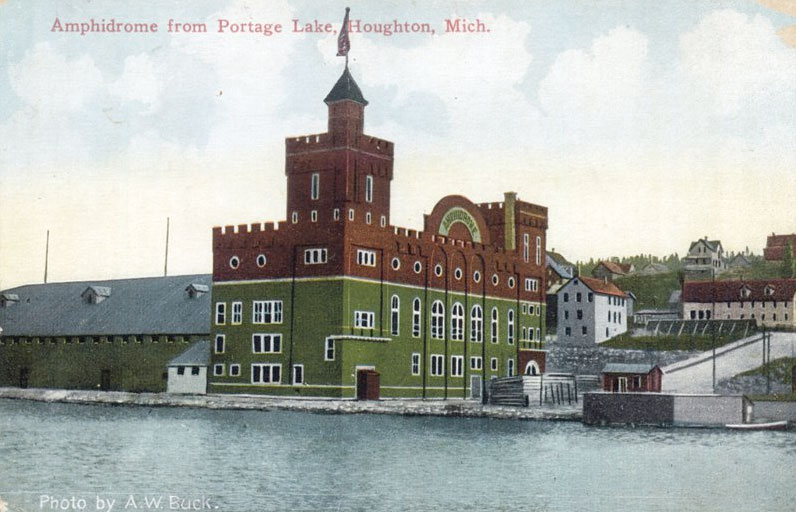 Amphidrome from Portage Lake, Houghton, Michigan
