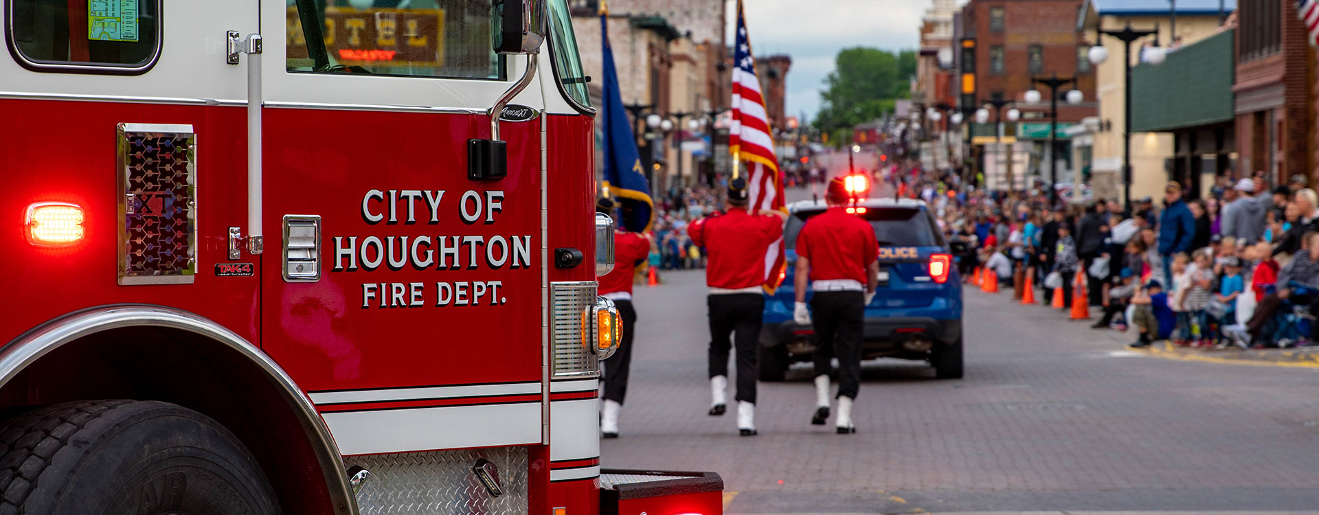 Houghton city fire department