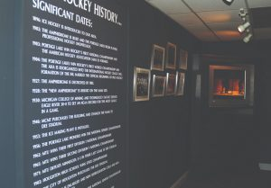 The History of Hockey Exhibit at Dee Stadium