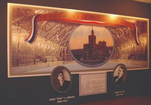 Birthplace of Professional Hockey Exhibit in Houghton