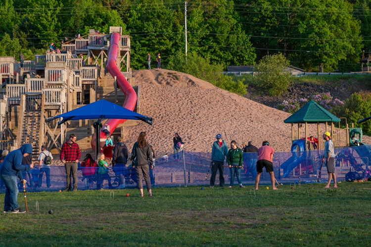 Ultimate playground in Houghton
