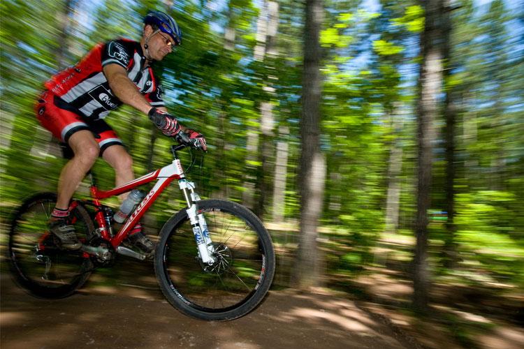 Mountain biking in Houghton