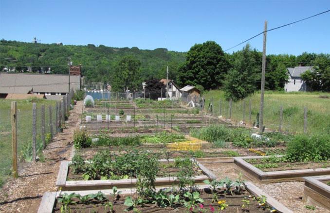 Pewabic Street Community Garden